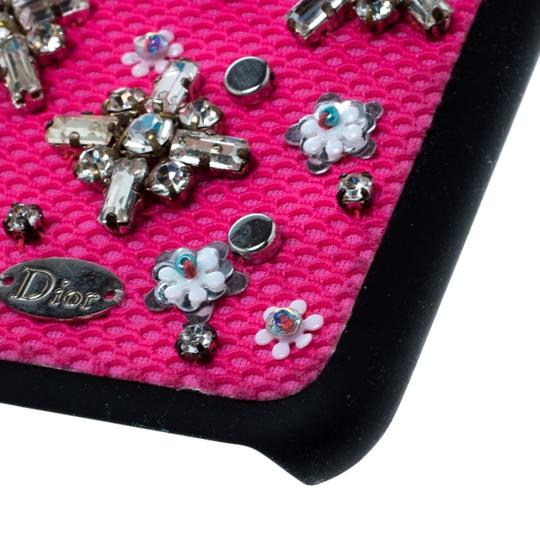 Dior Pink Crystal and Fabric Stardust Embellished IPhone 6 Case Image 7