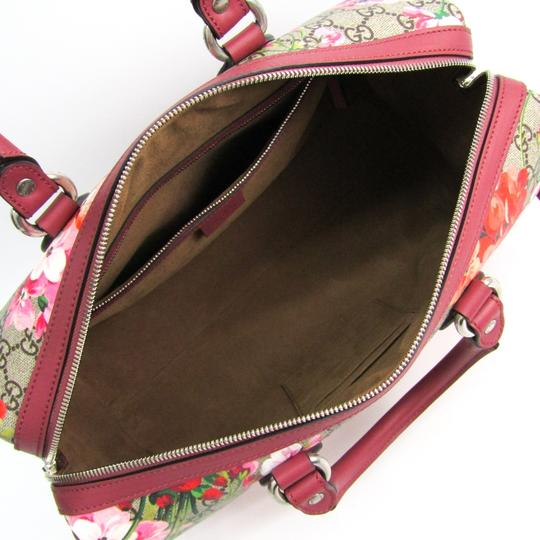 Gucci Satchel in Beige / Pink / Red Image 3