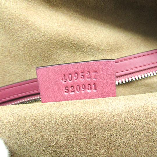 Gucci Satchel in Beige / Pink / Red Image 9