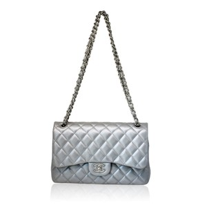 Chanel Leather Handbag Lamb Shoulder Bag