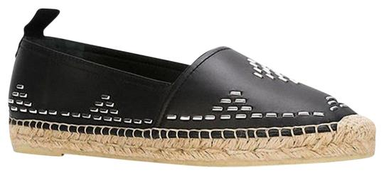 Preload https://img-static.tradesy.com/item/25752956/saint-laurent-black-embellished-stitch-leather-espadrille-flats-size-eu-37-approx-us-7-regular-m-b-0-5-540-540.jpg