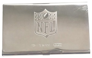 Tiffany & Co. UNIQUE!! Tiffany & Co. NFL Business Card Holder