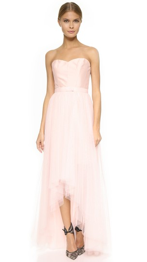 Preload https://img-static.tradesy.com/item/25753426/monique-lhuillier-blush-tulle-removable-skirt-feminine-bridesmaidmob-dress-size-12-l-0-0-540-540.jpg