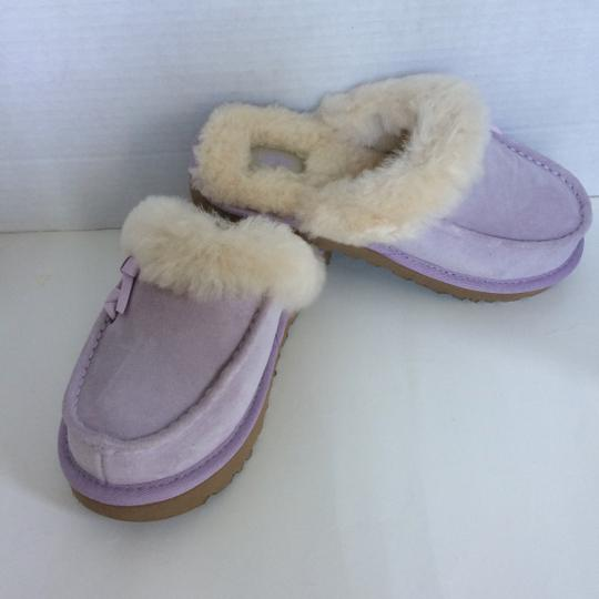 UGG Australia Sale New With Tags New In Box Lavender Fog Mules Image 4