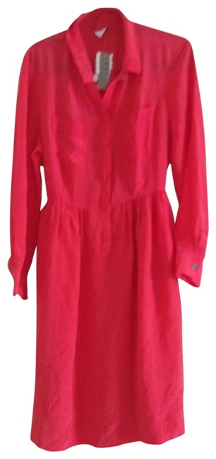 Item - Red Mid-length Cocktail Dress Size 12 (L)