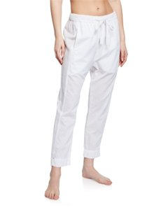 XiRENA Casual Sporty Spring Summer Classic Relaxed Pants White