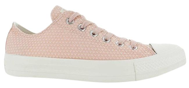 Item - Pink & White Chuck Taylor Sneakers Size US 10 Regular (M, B)