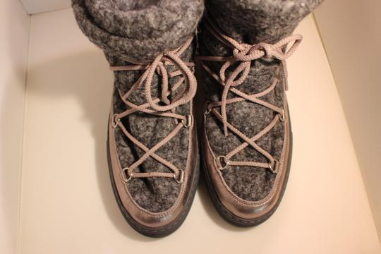 Moncler Exclusive Canada Goose Jpb Grey with silver accents Boots Image 1