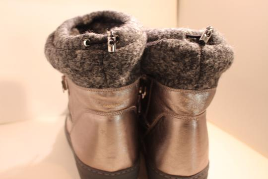 Moncler Exclusive Canada Goose Jpb Grey with silver accents Boots Image 2