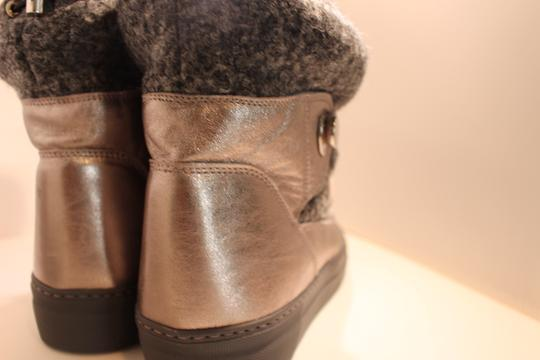 Moncler Exclusive Canada Goose Jpb Grey with silver accents Boots Image 3
