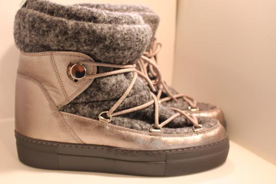 Moncler Exclusive Canada Goose Jpb Grey with silver accents Boots Image 4