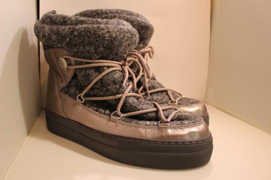 Moncler Exclusive Canada Goose Jpb Grey with silver accents Boots Image 5