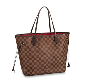 84605cc30e8a9 Louis Vuitton Neverfull Mm New With Tags Tote in Damier Ebene Cherry