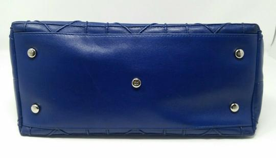 Dior Granville Cannage Lambskin Medium Tote in Royal Blue Image 8