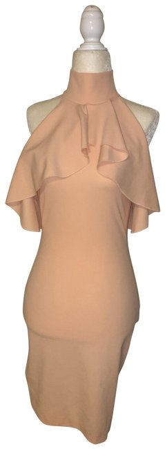 Item - Blush Fitted Short Night Out Dress Size 4 (S)
