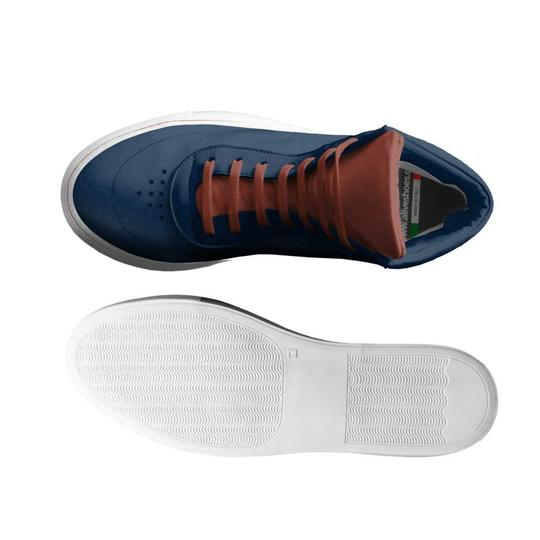 L. Che' with Alive Shoes Navy Blue, Brown Athletic Image 2