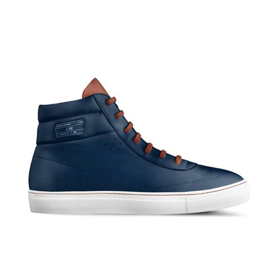 L. Che' with Alive Shoes Navy Blue, Brown Athletic Image 3