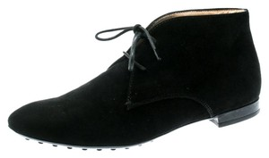 Tod's Suede Black Boots