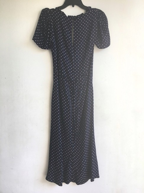 Reformation short dress Blue Polka Dot on Tradesy Image 6