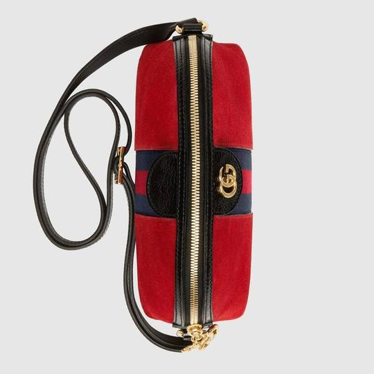 Gucci Double G Street Wear Leather Cross Body Bag Image 3