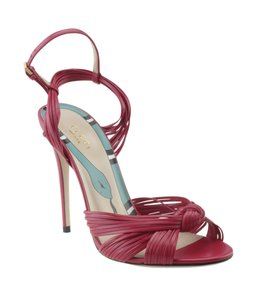 Gucci Leather Red Sandals