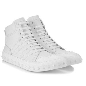 Jimmy Choo Stars White Athletic