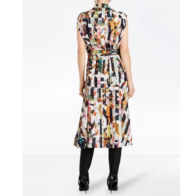 Ivory Multi Maxi Dress by Burberry Image 10