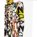 Ivory Multi Maxi Dress by Burberry Image 11