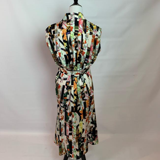 Ivory Multi Maxi Dress by Burberry Image 4