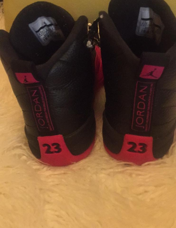 bbd68569 Nike Black and Pink Jordan Retro 12 Deadly Black/Deadly Sneakers Size US  6.5 Regular (M, B) 60% off retail