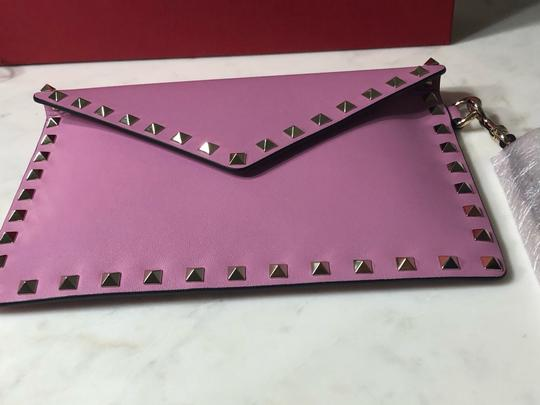 Valentino Wristlet in Lilac Image 11