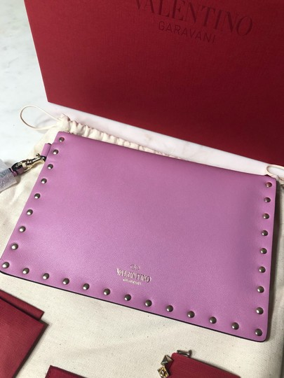 Valentino Wristlet in Lilac Image 7