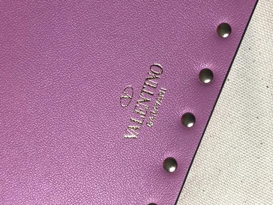Valentino Wristlet in Lilac Image 9