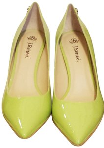 Refuge Jeans Patent Leather Stiletto APPLE GREEN Pumps