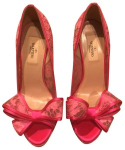 Valentino Hot Pink Platforms