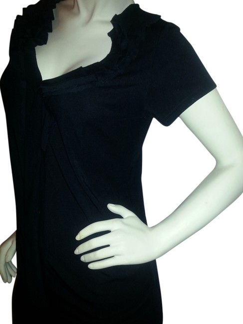 Preload https://item4.tradesy.com/images/new-york-and-company-black-v-neck-ruffle-tee-shirt-size-12-l-257578-0-0.jpg?width=400&height=650