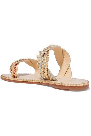 Christian Louboutin Normandie gold, natural Sandals Image 2