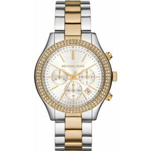 Michael Kors Michael Kors Women's Slim Runway Two Tone Watch