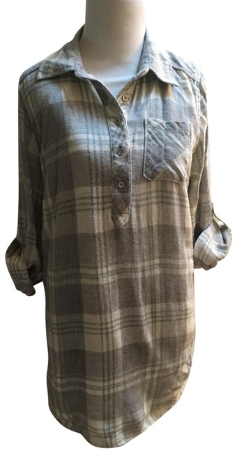 Item - Cotton Flannel Maternity Top Size 4 (S)