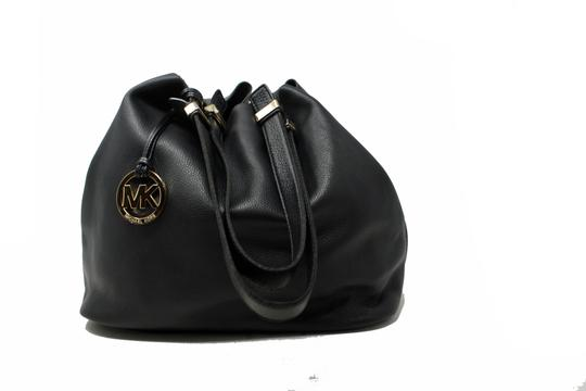 Michael Kors Colgate Leather Handbag Hobo Bag Image 5