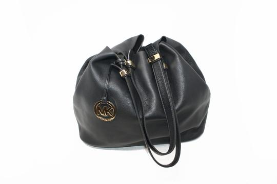 Michael Kors Colgate Leather Handbag Hobo Bag Image 7
