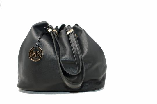 Michael Kors Colgate Leather Handbag Hobo Bag Image 8