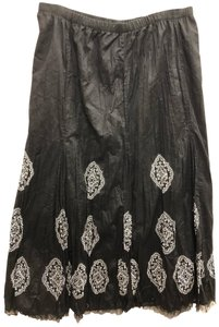 Peter Nygard Maxi Skirt Black