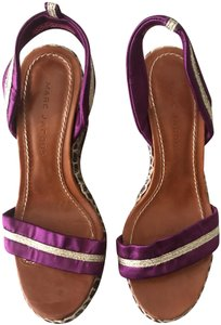 Marc Jacobs Newshoes Purple Wedges