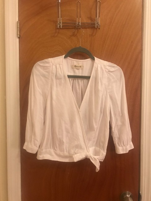Madewell Top White Image 1