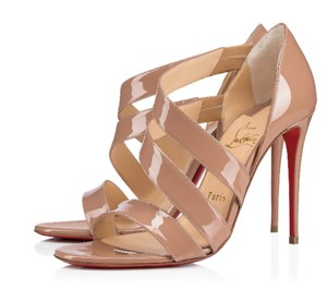 Christian Louboutin Strappy Strappy Heels Nude Nude Beige Sandals