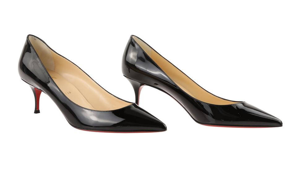 timeless design 8811c 7fa0a Christian Louboutin Black Pigalle Follies 55mm Patent Leather Pumps Size EU  39 (Approx. US 9) Regular (M, B) 11% off retail