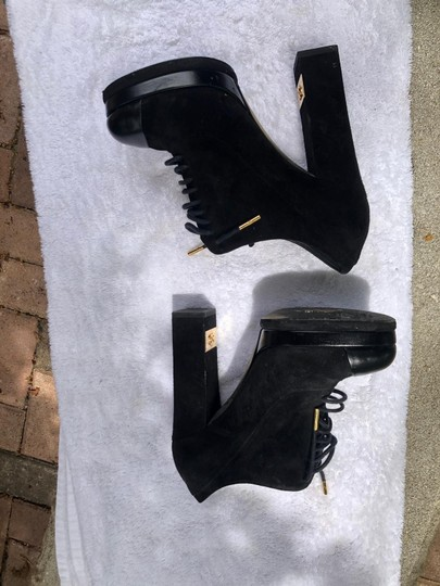 Chanel black and gold Boots Image 1