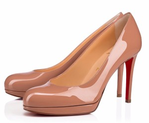 Christian Louboutin Simple Classic Classic Nude Simple beige Pumps