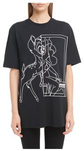 Givenchy Bambi Jersey Stencil T Shirt Black